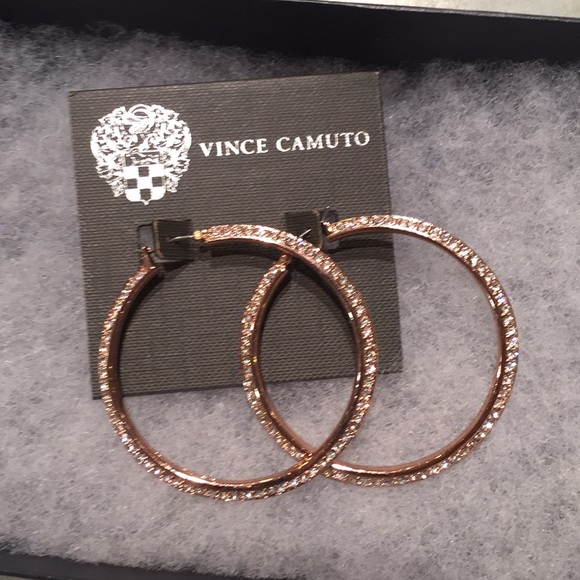 Vince Camuto Jewelry - Vince Camuto gold tone hoop earrings